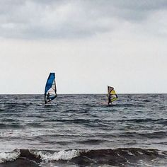 Windsurfing is a sport for the whole family #windsurf #windsurfing #family #watersports