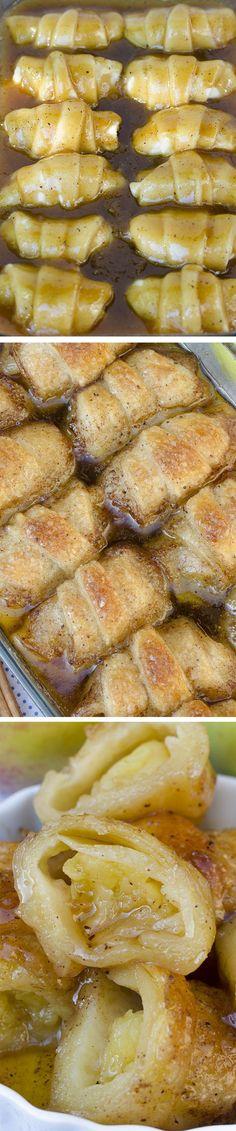 Un délicieux croissant aux pommes - Recettes - Recettes simples et géniales! - Ma Fourchette - Délicieuses recettes de cuisine, astuces culinaires et plus encore!