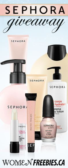 Win a Sephora Prize Pack from WomenFreebies