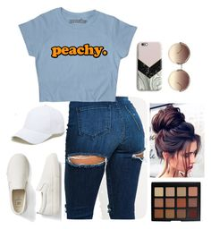 """""""Untitled 16"""" by becarrel on Polyvore featuring Gap, Sole Society, Morphe, Harper & Blake and Linda Farrow"""
