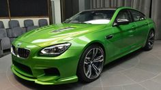 New 2015 BMW M6 Gran Coupe in Java Green