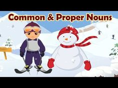 Parts of Speech: Common & Proper Nouns, Learning English Grammar For Children - YouTube