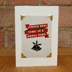 #greetingscards #typography #digitaldesign #handmade #christmas #christmascard #handmadechristmas #jinglebell #jinglebellrock