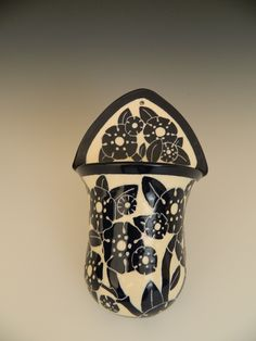 Wall pocket by Ken Tracy Pottery sold