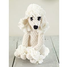 One of our menagerie of amigurumi animals, our little princess is sure to be a favorite. (Lion Brand Yarn)