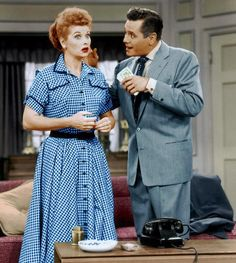 Monday, Oct. 15, 1951: I Love Lucy premieres on CBS.