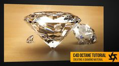 Cinema 4D – Creating a Realistic Diamond Material in Octane Tutorial