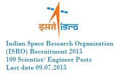 ISRO Recruitment 2015