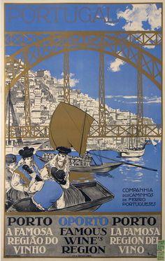 portugal companhia dos caminhos de ferro porto a famosa região do vinho oporto famous wines region porto la famosa region del vino