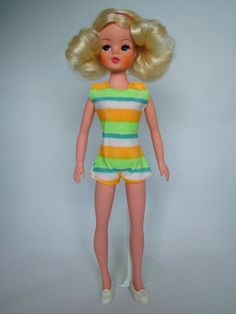 Sindy Funtime (aka Funtime Sindy) (Ref S678) (Boxed doll outfit)