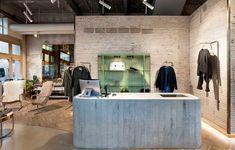 Detalle de la nueva tienda Noho en A Coruña. Fotografía: Ana Samaniego