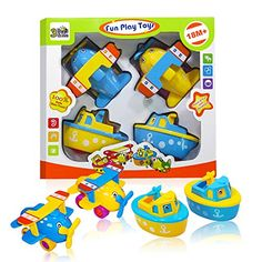 Fun Bath Toys for Boys and Girls - Boats and Planes for Toddlers and Older Kids 3 Bees and Me http://www.amazon.com/dp/B01134F9D4/ref=cm_sw_r_pi_dp_VE7jwb0M7DZS5