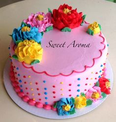 sweet aroma cake