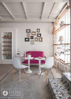 Zaida Marcos Sweet Boutique Interiorismo por Mar García by Piropo , via Behance