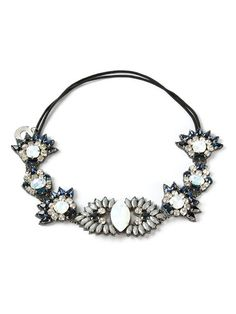 Deepa Gurnani Embellished Headband - Elite - Farfetch.com