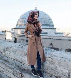 Military khaki hijab style – Just Trendy Girls Islamic Fashion, Muslim Fashion, Military Fashion, Modest Fashion, Hijab Fashion, Fashion Outfits, Hijab Chic, Casual Hijab Outfit, Hijab Dress
