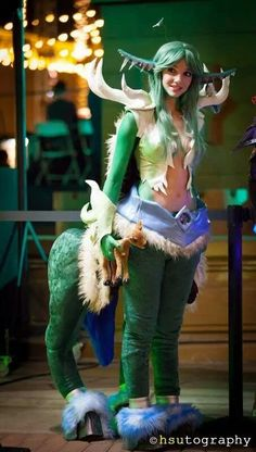 I would never cosplay as this, but this is an AMAZING costume! World of Warcraft Cosplay