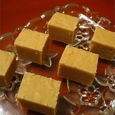 This traditional Mexican candy similar to fudge contains pecans and a hint of cinnamon.