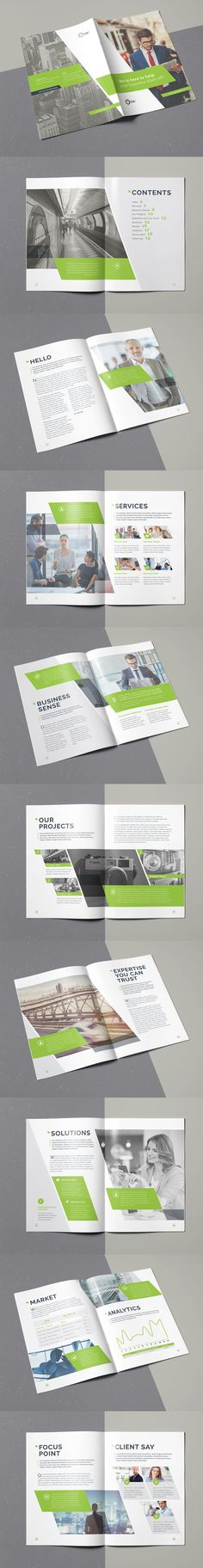 Business Brochure Template INDD - 20 Pages A4