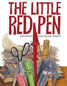 The Little Red Pen by Janet Stevens Personification