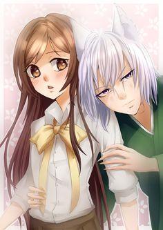 Kamisama Hajimemashita - Nanami and Tomoe by Nilfea.deviantart.com on @DeviantArt