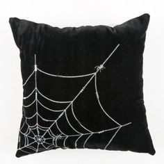 Amazon.com: Halloween Decoration - Itsy Bitsy Spider Pillow - Spider Web Halloween Pillow: Home & Kitchen