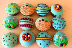 Cute Easter cupcake designs holiday-ideas amazing-food