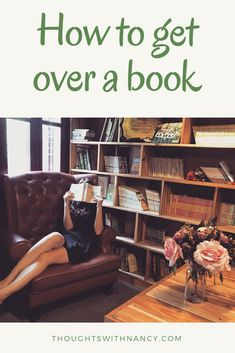 Getting over book can be very emotional, so I have put together a few tips and tricks to get over a book.