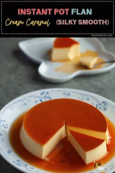 Fall in love with this silky smooth texture  Instant Pot Flan. It's creamy egg and velvety texture, melt in the mouth smoothness – sheer paradise.