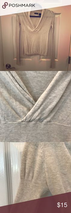 Victoria's Secret curve-hugging sweater Beautiful oatmeal colored cowl neckline sweater. Moda International brand by Victoria's Secret. Show off some cleavage in this stunner. 😉 Excellent condition with no flaws. Victoria's Secret Sweaters Cowl & Turtlenecks