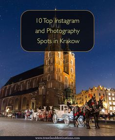 10 Top Instagram and Photography Spots in Krakow, Poland. Including a link to the location on Google Maps, the best time to take photographs and whether the location is free or not. - #travel #krakow #poland #travel