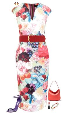 Hello, spring! by julietajj on Polyvore featuring polyvore fashion style Ted Baker Casadei Ippolita Dorothy Perkins clothing