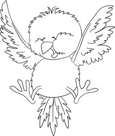 Bird Coloring Pages Pattern Printable Sheets Adult Books Embroidery
