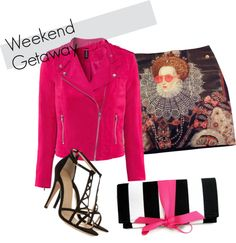 A fashion look from March 2013 featuring pink jacket, stretch skirt and black heeled sandals. Browse and shop related looks. Shoe Bag, Polyvore, Stuff To Buy, Shopping, Collection, Design, Women, Fashion, Moda