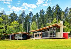 Henry Island Residence is an off-the-grid family retreat for a Grammy-winning music producer   Inhabitat - Sustainable Design Innovation, Eco Architecture, Green Building