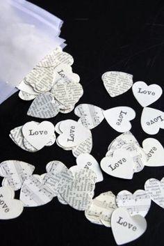 Table Confetti - Hearts