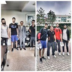 Okulumuz mezunlarından Furkan Korkmaz basketbol kariyerini sürdüreceği NBA'ye gitmeden önce, Özel Mürüvvet Evyap Koleji ve Fen Lisesi Okul Müdürü Selçuk Erdem'i ve okulumuz basketbol koordinatörü Sead Ok'u mezun basketbolcularımızdan Türk Telekom oyuncusu Serkan Kırçe ile beraber ziyarete geldiler. Furkan Korkmaz daha sonra Serkan Kırçe ile beraber NBA'ye yolculuğu öncesi Türkiye'deki son idmanını okulumuzda yaptı. Mezun öğrencimiz Furkan Korkmaz'a NBA kariyerinde başarılar diliyoruz.