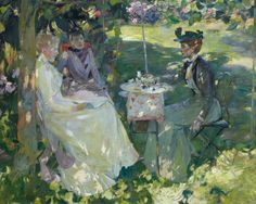 Midsummer by James Guthrie, 1892, Royal Scottish Academy of Art and Architecture