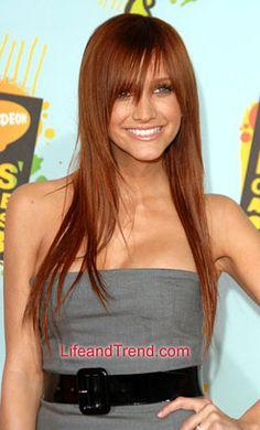 Auburn Hair Color 2013 Celebrity Auburn Hairstyles