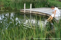 Each Swimming Pond is uniquely designed and expertly blended with its surroundings. Browse our projects to see for yourself.