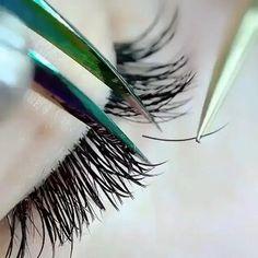 Eyelash Extensions Classic, Volume Lash Extensions, Silk Lashes, Mink Eyelashes, Eyelashes Tutorial, Russian Volume Lashes, Eyebrow Grooming, Eyelash Kit, Beauty Lash