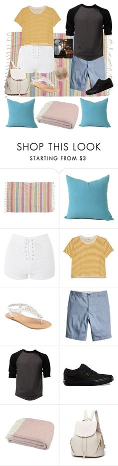 Summer Date: Picnic and Star Gazing by sbello on Polyvore featuring Monki, Topshop, SONOMA Goods for Life, Vans, Billabong, Tweedmill and Samsung