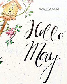 Here we are, May is coming! #may #bulletjournal #bujo #handlettering #handletteredabcs #moderncalligraphy #lettering #letters #typography #calligraphy #calligraphyph #calligraphyart #font #type #typewriter #planner #planneraddict #plannerlove #markers #plannercommunity #plannergoodies #kawaii #thedailytype #doodle #marker  #stationery  #rockyourhandwriting #journal #midori #paper
