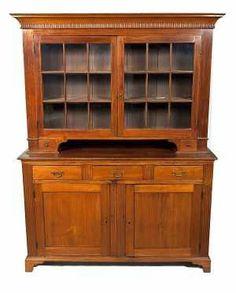 A Pennsylvania Dutch cupboard. I especially love massive, but understated furniture.