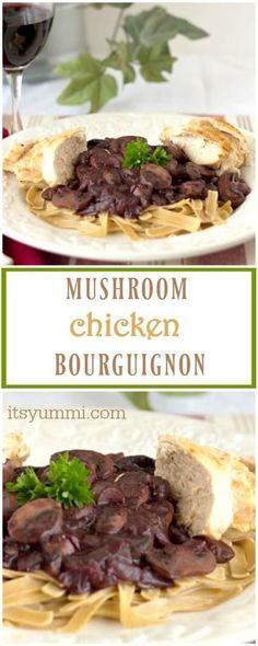 Mushroom Chicken Bou
