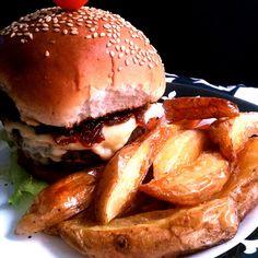 Confira o passo a passo para um búrguer suculento #carnemoída #hambúrguer #sanduíche