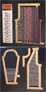 52 Ideas For Knitting Loom Basket Diy Tutorial Pin Weaving, Tablet Weaving, Loom Weaving, Weaving Textiles, Weaving Patterns, Tapestry Weaving, Weaving Projects, Fabric Manipulation, Weaving Techniques
