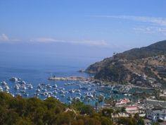 Santa Catalina Island, California. A stop during a repositioning cruise along the Pacific coast.