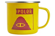 "Poler Stuff ""Yellow Tent"" Camp Mug"