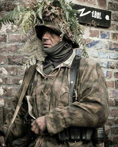 German soldier at Normandy.1944